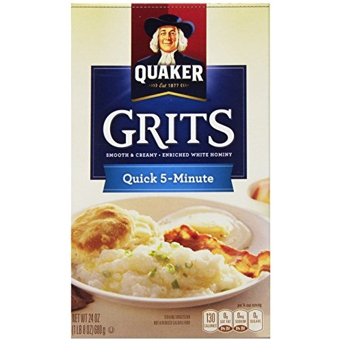 Quaker Quick Grits, 24 Ounce Pack of 12