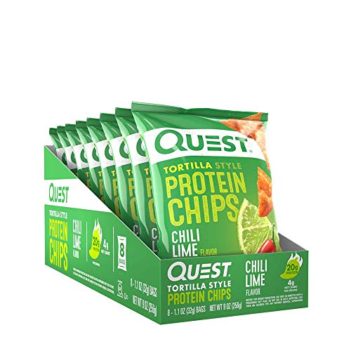 Quest Tortilla Style Protein Chips - Chili Lime