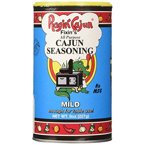 Ragin Cajun Mild Cajun Seasoning, 8 Ounce