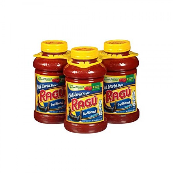 A Product of Ragu Old World Style Traditional Pasta Sauce 45 oz...