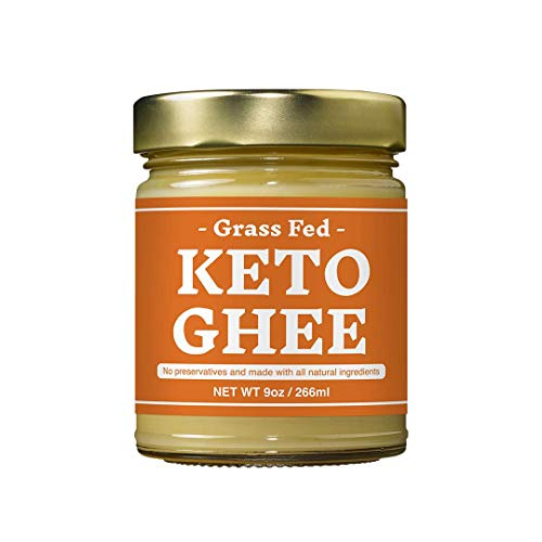 KETO Ghee Butter 9 ounce by Rainbow Farms - Quality Clarified Bu...