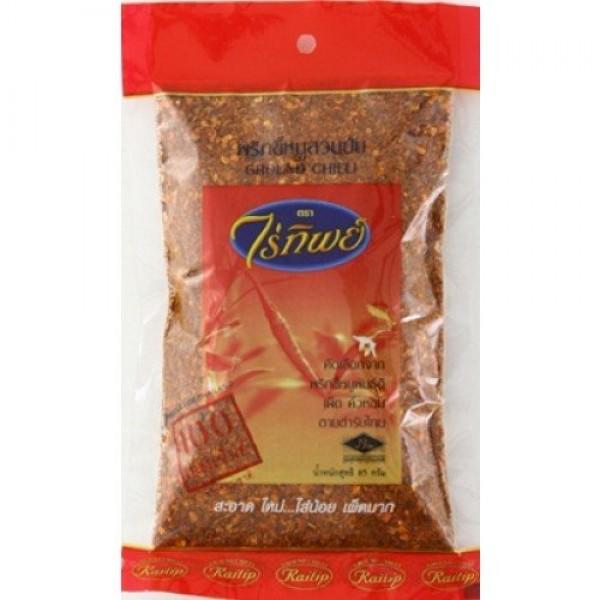 Raitip Ground Chilli for Thai Cuisine 85g. by Raitip