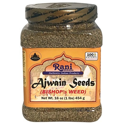 Rani Ajwain Seeds Carom Bishops Weed Spice Whole 16oz 454g ~...