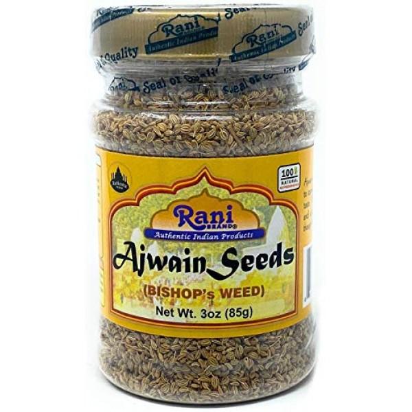 Rani Ajwain Seeds Carom Bishops Weed Spice Whole 3oz 85g ~ N...