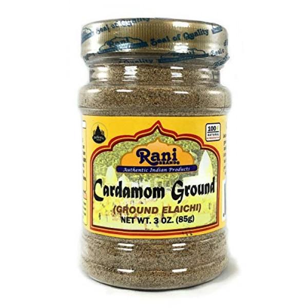 Rani Cardamom Elachi Ground, Powder Indian Spice 3oz 85g ~ A...