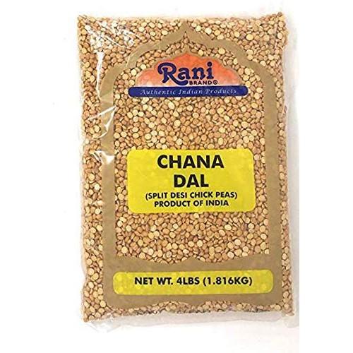 Rani Chana Dal Split Desi Chick Peas Lentils Indian 4lbs 64oz...