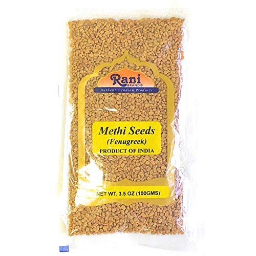 Rani Fenugreek Methi Seeds Whole 3.5oz 100g Trigonella foenu...