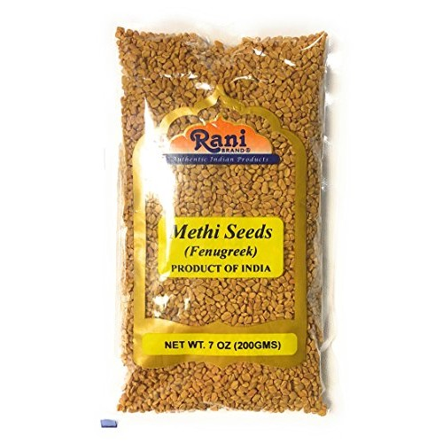 Rani Fenugreek Methi Seeds Whole 7oz 200g Trigonella foenum ...