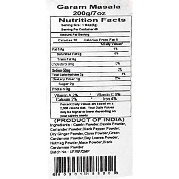 Rani Garam Masala Indian 11 Spice Blend 7oz 200g ~ All Natural...