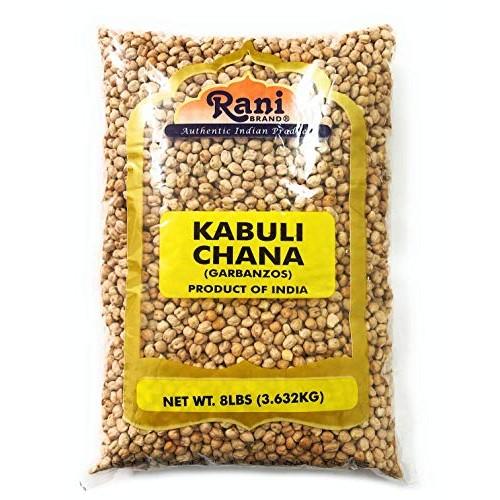 Rani Garbanzo Beans Kabuli Chana 8lbs 128oz Bulk ~ All Natur...