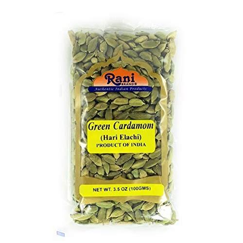 Rani Green Cardamom Pods Spice Hari Elachi 3.5oz 100g ~ Natu...