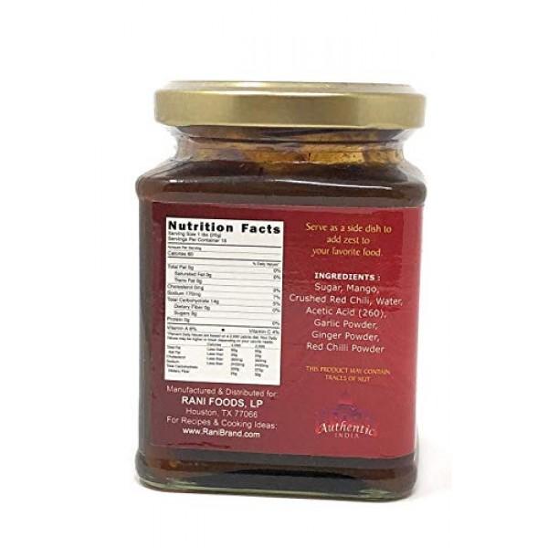 Rani Mango Chili Chutney Spicy Indian Preserve 10.5oz 300g G...