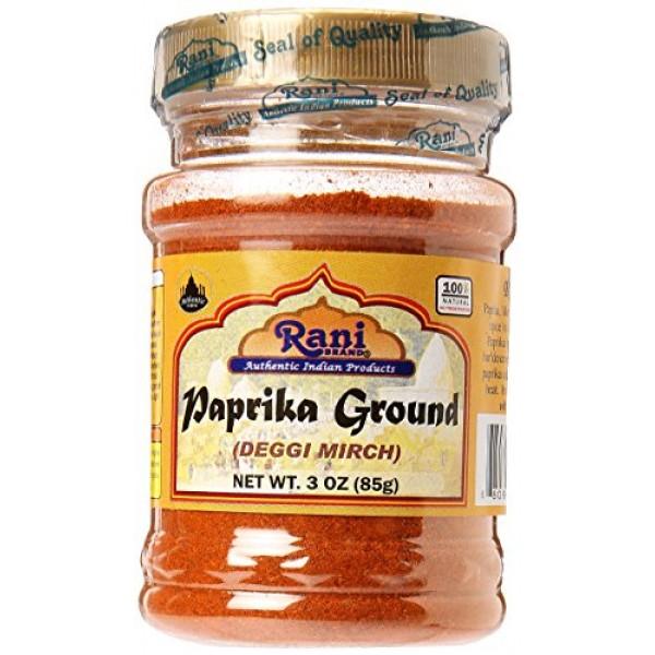 Rani Paprika Deggi Mirch Spice Powder, Ground 3oz 85g ~ All ...