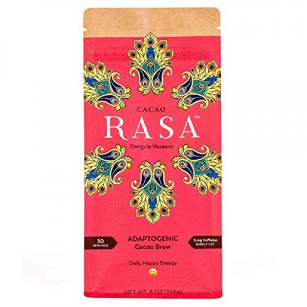 Cacao Rasa Coffee Alternative with Chaga + Reishi for All-Day En...