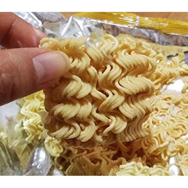 Korean Ppushu Ppushu Smash Noodle Snack Bulgogi Flavor 3Pack