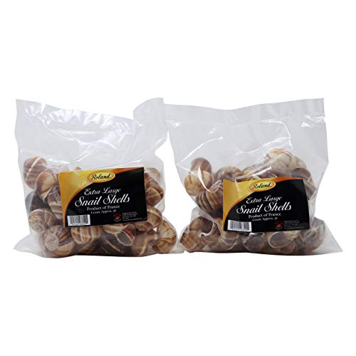 Roland Large Snail Shells, 72 count, 2 pack