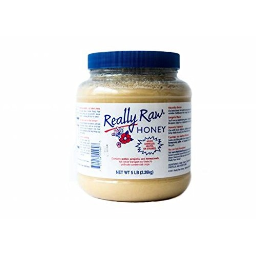 Really Raw Honey 5 Pound Jar