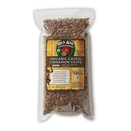 Red Ape Cinnamon Organic Cassia Cinnamon Chips, 1 Pound