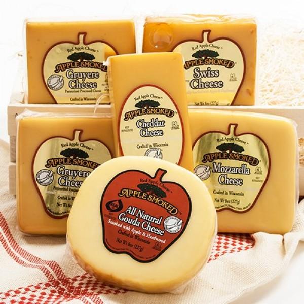 Red Apple Smoked Cheese - Mozzarella 8 ounce