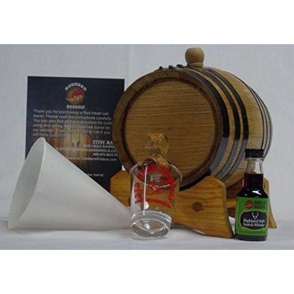 1 Liter Charred Oak Barrel Flavor Kit w/Essence for making your ...