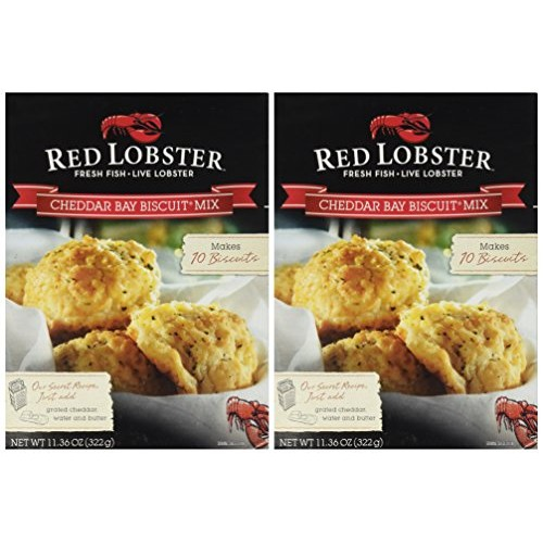 Red Lobster, Cheddar Bay Biscuit Mix , 11.36oz Box 2 Pack