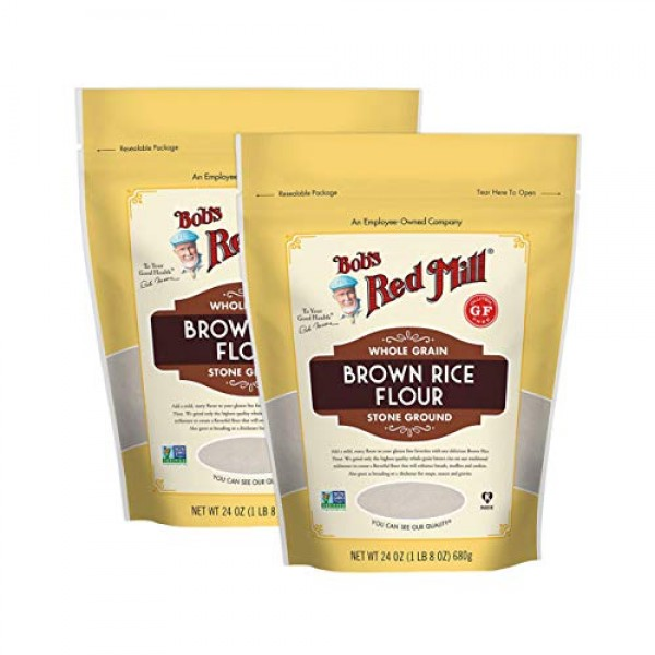 Bobs Red Mill Certified Gluten Free Stoned Ground Whole Grain B...