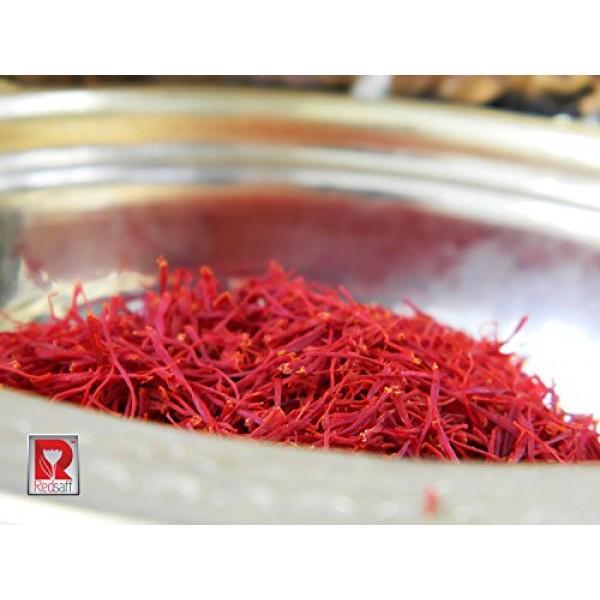 Redsaff Afghan Saffron Premium Threads Superior Grade A+ Saffr...