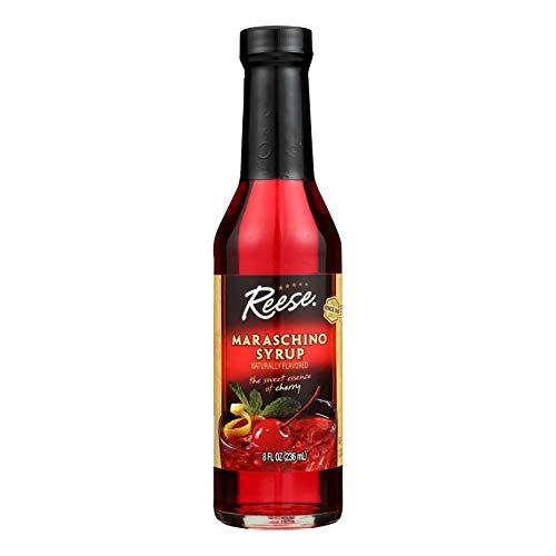 Reese Maraschino Syrup, 8 Ounce 12 Bottles