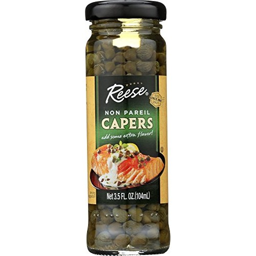 Reese Non Pareil Capers, 3.5-Ounces Pack of 12