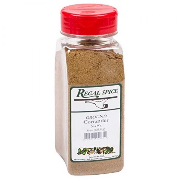 Regal Herbs, Spices, Seasoning 8 ounce Ground Coriander