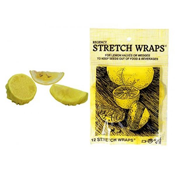 Regency Wraps Regency Stretch Wraps Covers for Lemon Halves and ...