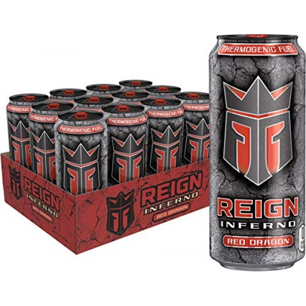 Reign Inferno Red Dragon, Thermogenic Fuel, Fitness and Performa...