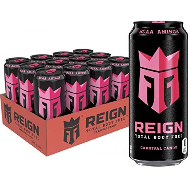 Reign Total Body Fuel, Carnival Candy, Fitness & Performance Dri...