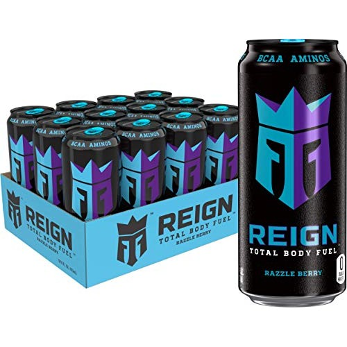 Reign Total Body Fuel, Razzle Berry, Fitness & Performance Drink...