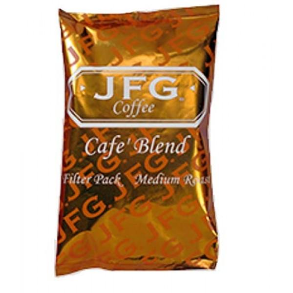 JFG Medium Roast Coffee Cafe Blend - Filter Pack, 1.5 Ounce - 42...