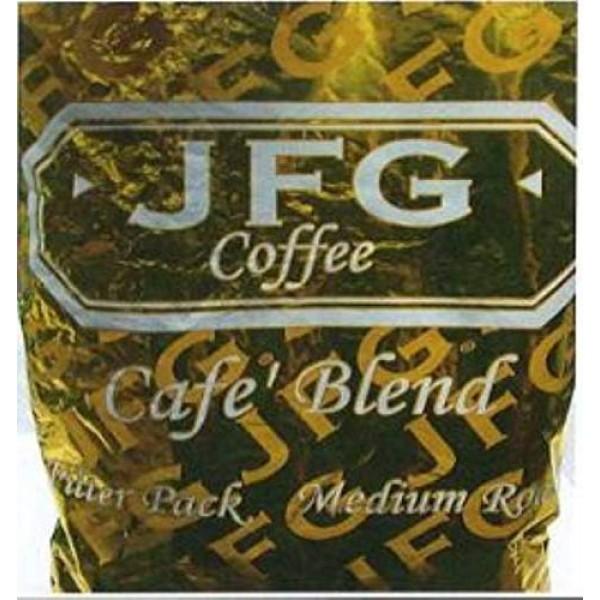 JFG Medium Roast Coffee Cafe Blend - Filter Pack, 1.3 Ounce - 42...