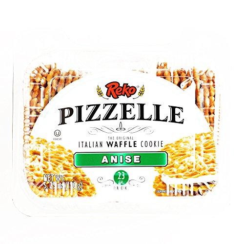 Reko Anise Pizzelle Cookies 5.25 oz each 6 Items Per Order, not...