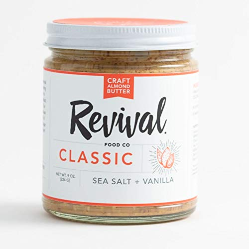 Classic Almond Butter By Revival Food Co with Organic Vanilla Be...