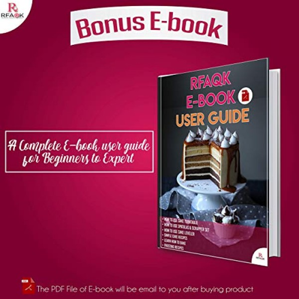 90 Pcs Cake Decorating Supplies Kit for Beginners-1 Turntable st...