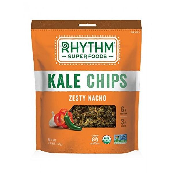 Rhythm superfoods chip kale zesty nacho org
