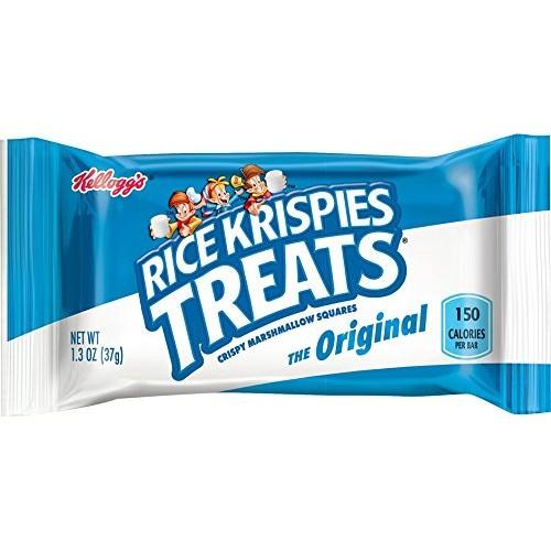 Rice Krispies Treats Crispy Marshmallow Squares, 1.3 oz Pack of...