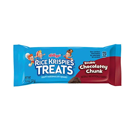 Kelloggs Rice Crispy Treats Double Chocolatey Chunk Kelloggs Cr...