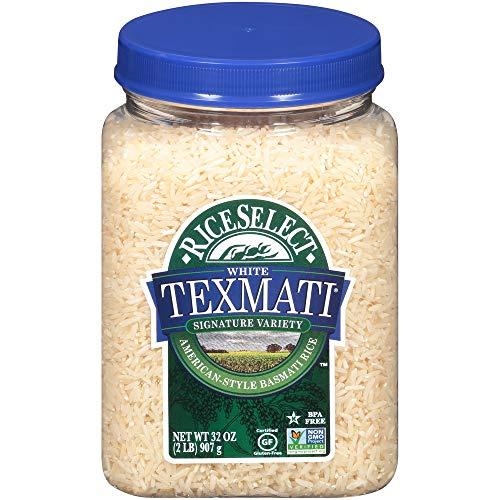 RiceSelect Texmati White Rice, Long Grain, Gluten-Free, Non-GMO,...
