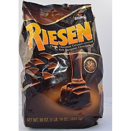 Riesen Chewy Chocolate Caramel Covered in Rich European Chocolat...