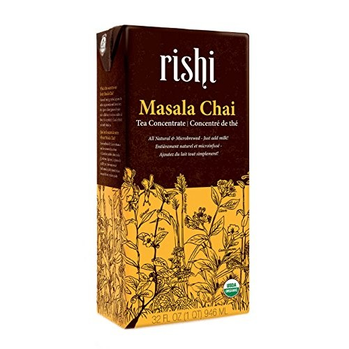 Rishi Tea Concentrate, Masala Chai, 32 Ounce Pack of 12