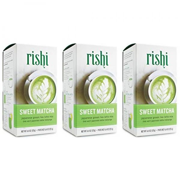 Rishi Tea Sweet Matcha Japanese Green Herbal Tea Powder   Immune...