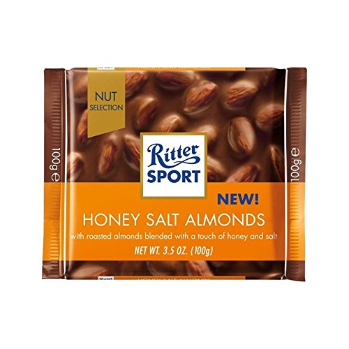 Ritter Sport Nut Perfection Honey Salted Almonds Milk Chocolate ...