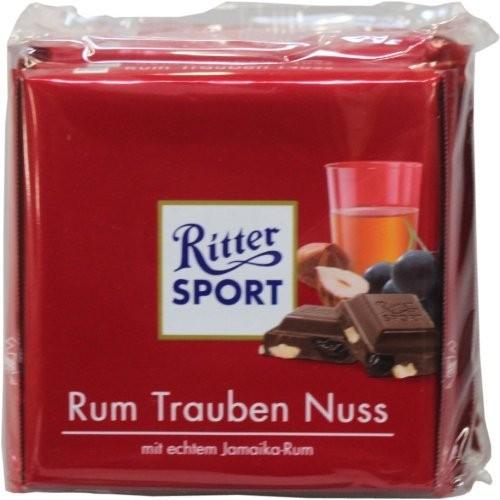Ritter Sport Rum-Trauben Nuss 100g 5er Pack