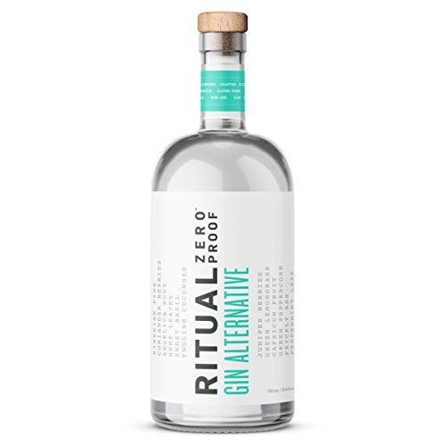 Ritual Zero Proof Gin - A nonalcoholic alternative with the tast...