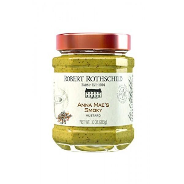 Robert Rothschild Farm Anna Maes Smoky Mustard 10 oz - Mustar...